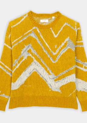 Ladies Billy Reid Mountain Jacquard Sweater