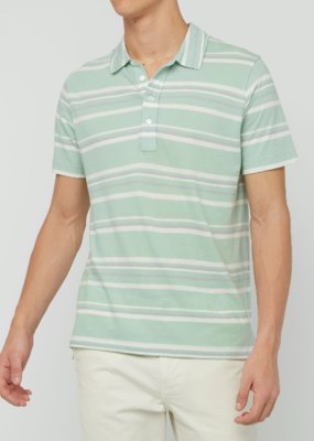 Billy Reid Billy Reid Stripe Polo