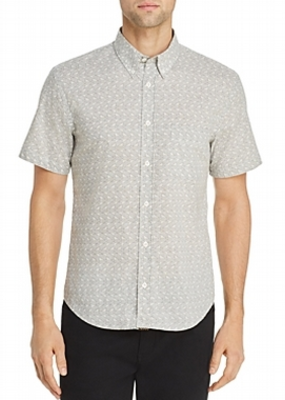 Billy Reid Billy Reid Tuscumbia Short Sleeve Shirt