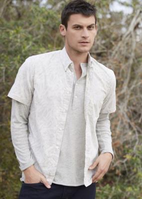 Billy Reid Billy Reid Kirby Slim Short Sleeve Shirt