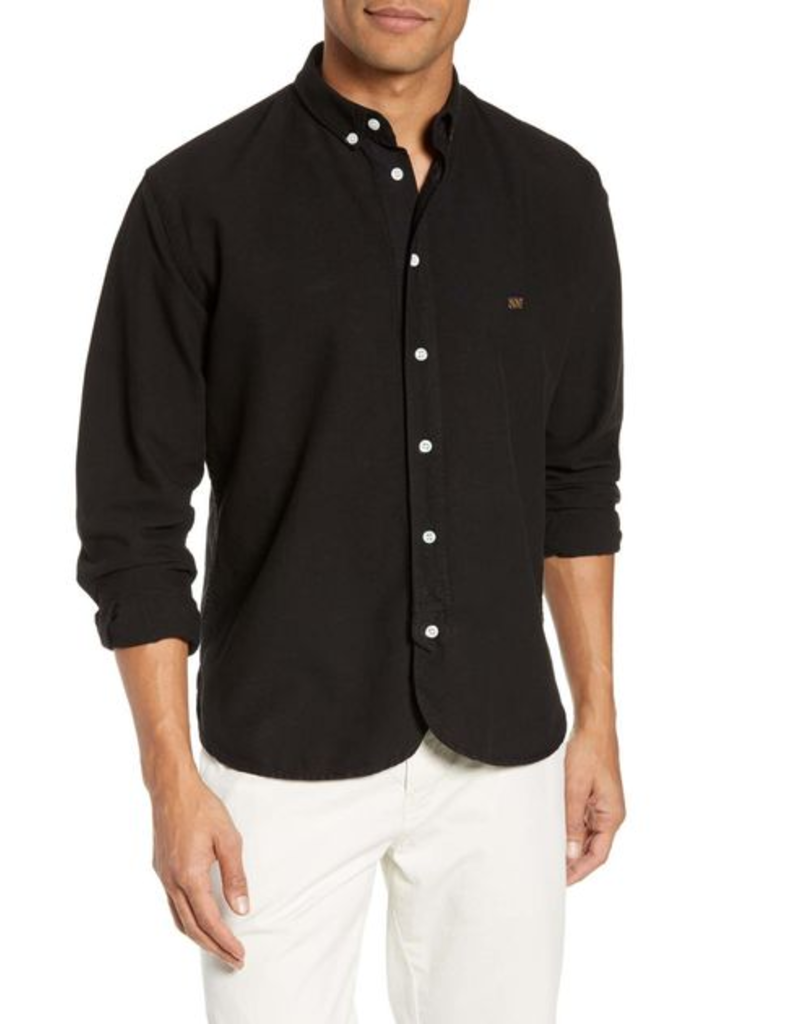 Billy Reid Billy Reid Long Sleeve Staff Shirt