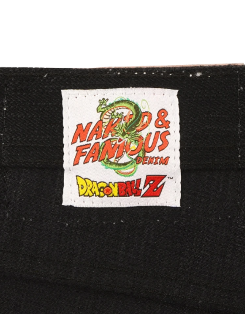 Naked & Famous Naked & Famous Weird Guy Trunks Super Saiyan Jean
