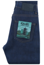 Naked & Famous High Skinny Kasuri Stretch Selvedge Jean