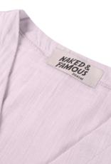 Naked & Famous Gauze Wrap Top
