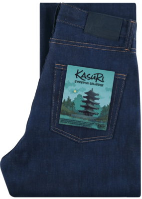 Naked & Famous Kasuri Stretch Selvedge Classic Jean