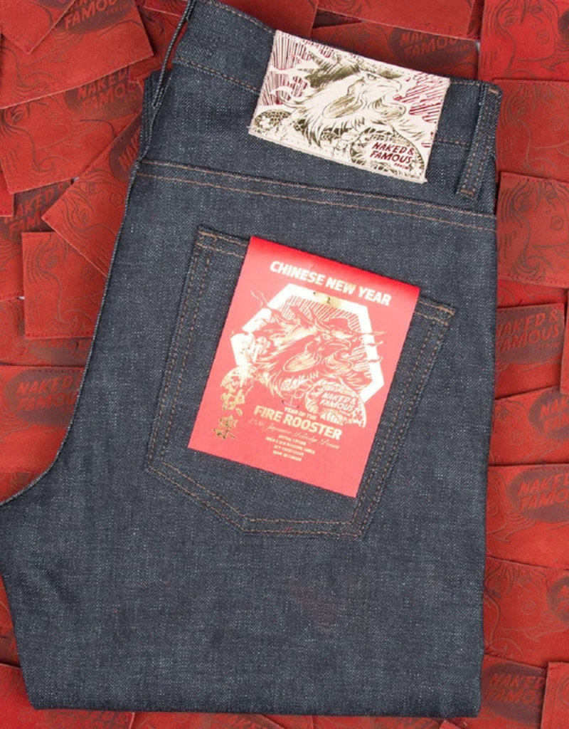 Naked & Famous Naked & Famous Super Skinny Guy Chinese New Year Selvege Jean