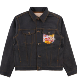Naked & Famous Naked & Famous Goku Super Saiyan Denim Jacket