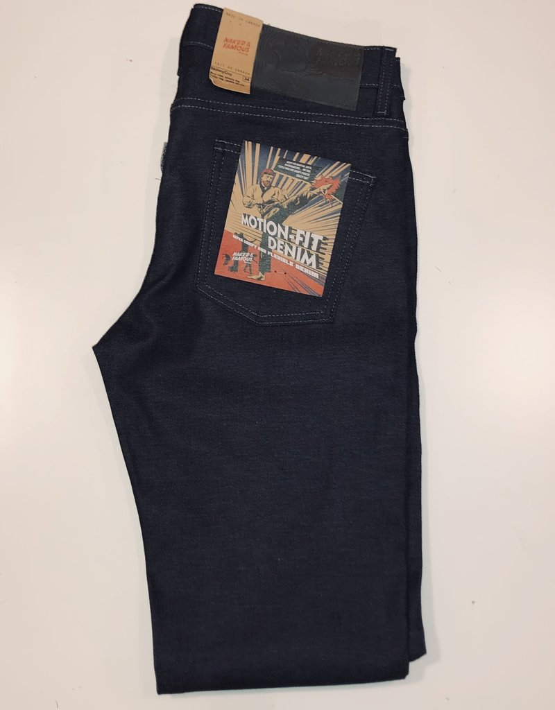 Naked & Famous Naked & Famous Skinny Guy Motion-Fit Denim Jean