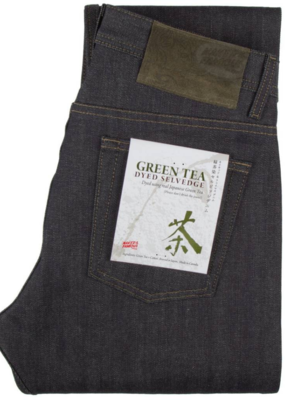 Naked & Famous Naked & Famous Super Guy Green Tea Selvedge Jean