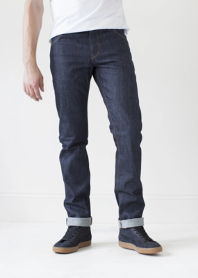 Raleigh Denim Workshop Raleigh Jones 2.0 Raw Organic Selvage Jean