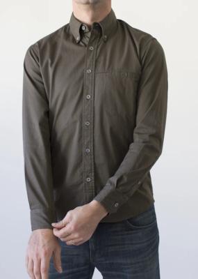 Raleigh Denim Workshop Raleigh Welt Pocket Twill Shirt