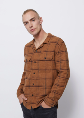 Baldwin BLDWN Guetes Plaid Button Down Shirt
