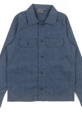 Naked & Famous Naked & Famous Railroad Chambray Work Shirt