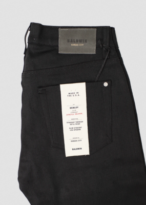 Baldwin BLDWN Henley Raw Stretch Selvedge