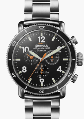 Shinola Shinola The Black Blizzard 48mm