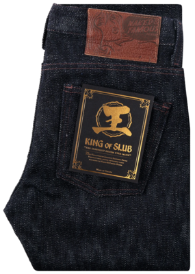 Naked & Famous Naked & Famous Super Guy King of Slub Selvedge Jean