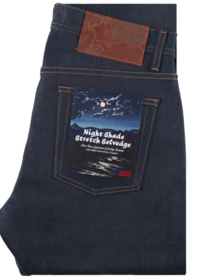 Naked & Famous Naked & Famous Super Guy Nightshade Stretch Jean