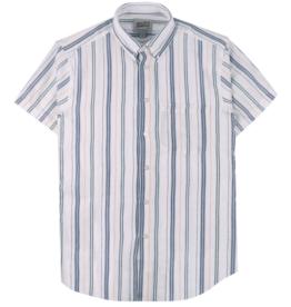 Naked & Famous Naked & Famous Easy Shirt Boucle Stripe