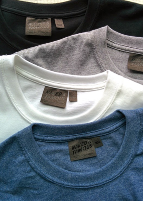 Naked & Famous Naked & Famous Circular Knit Tee