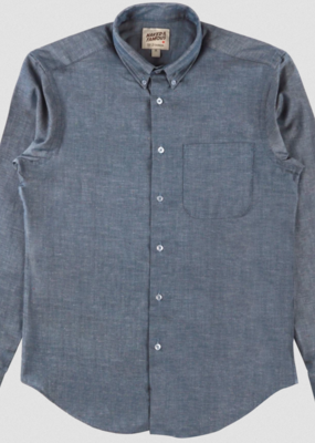 Naked & Famous Naked & Famous Chambray Multi Neps Regular Shirt