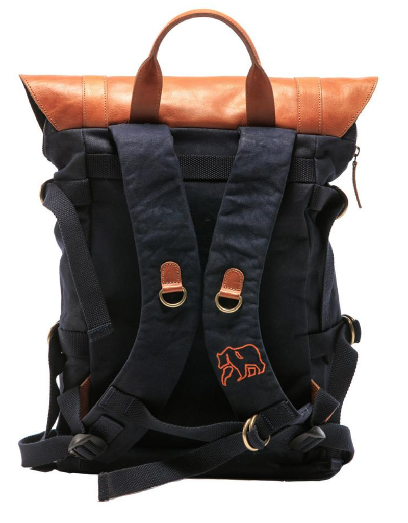 Normal Brand Normal Brand Top Side Leather Backpack
