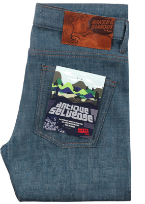 Naked & Famous Naked & Famous Weird Guy Antique Selvedge Jean
