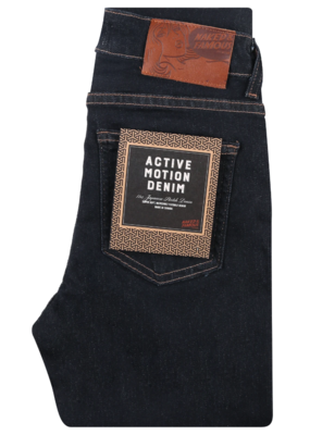 Naked & Famous Skinny Active Motion Indigo Jean