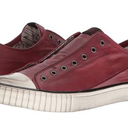 John Varvatos John Varvatos Coated Linen Low Top Sneaker