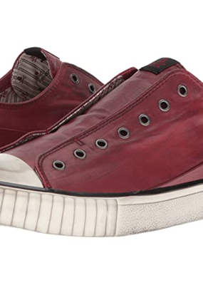 John Varvatos John Varvatos Coated Linen Low Top Sneaker