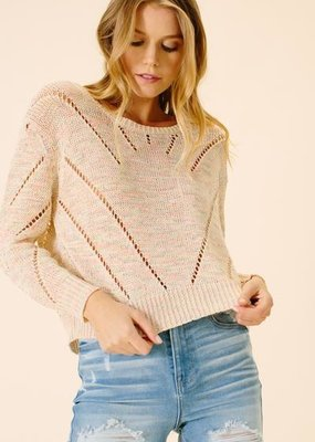 ELLOR Ellor Grace Cropped Sweater
