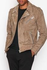 Selected Homme Suede Biker Jacket