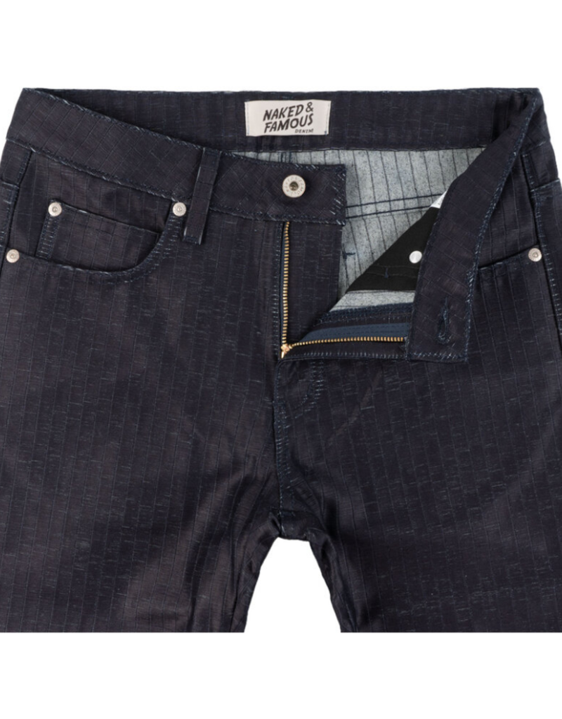 Naked & Famous Naked & Famous Weird Guy Tatami Denim Jean