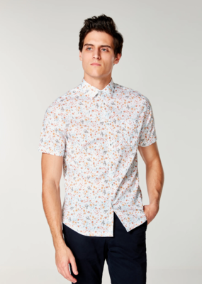 Good Man Brand Good Man SS On-Point Print Shirt