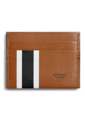 Shinola Shinola Striped Card Case