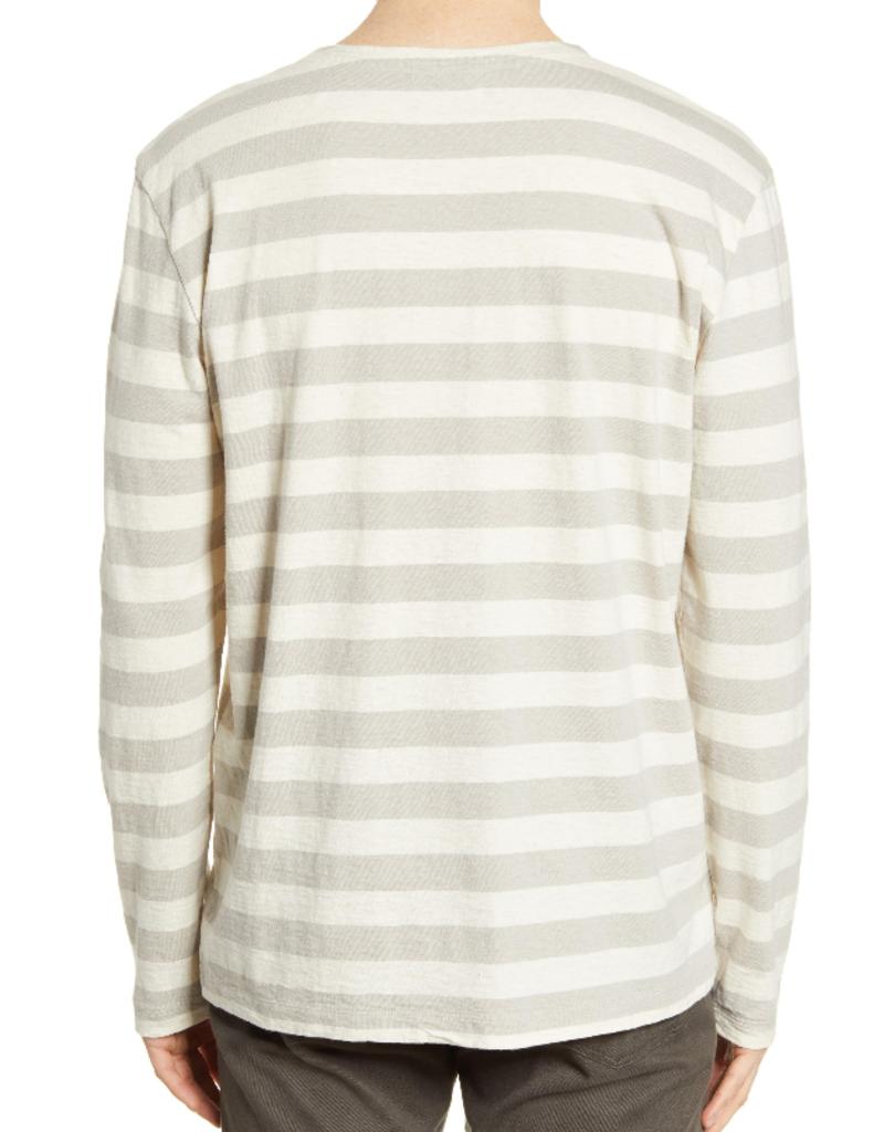 Baldwin BLDWN Ayden Stripe Pocket Pullover