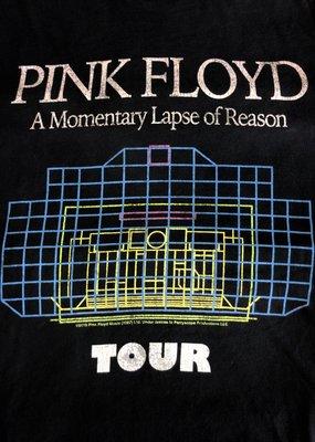 Retro Brand Retro Brand Pink Floyd Reason Tour Unisex Tee