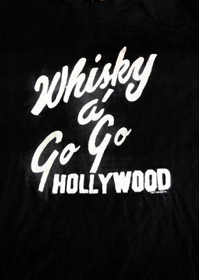 Retro Brand Retro Brand Whiskey A Go Go Unisex Tee