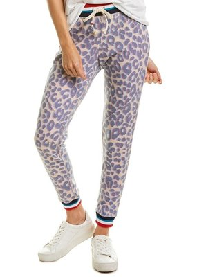 L SOL Leopard Jogger