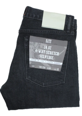 Kato KATO Pen 14oz. 4 Way Stretch Selvedge