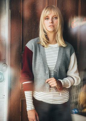 Ladies BLDWN Landon Stripe Pullover