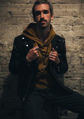 Baldwin BLDWN Leather Biker Jacket