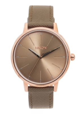 Nixon Nixon Kensington Leather Watch
