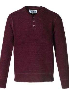 Schott NYC Schott Wool Henley Sweater