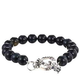 King Baby King Baby Silver Crown Toggle Bracelet