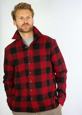 Peregrine Peregrine Wool Blanket Over Shirt