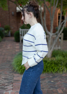 Charli Charli Adra Stripe Sweater