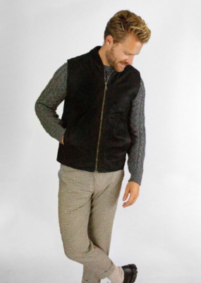 Peregrine Waxed Cotton Biker Gilet