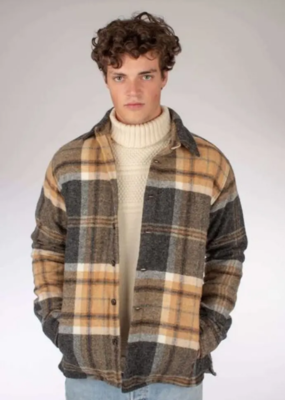 Peregrine Peregrine Wool Blanket Over Shirt Jacket