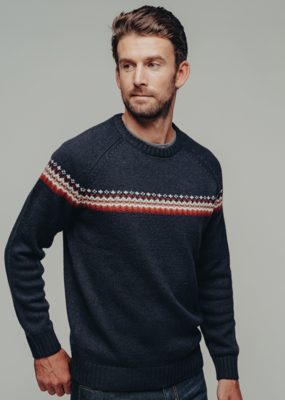 Normal Brand Normal Brand Fair Isle Crew Sweater