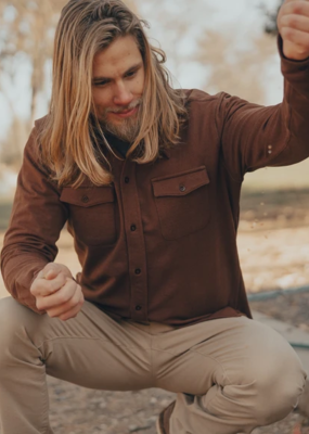 Normal Brand Normal Brand Knit Workman Shirt Jacket